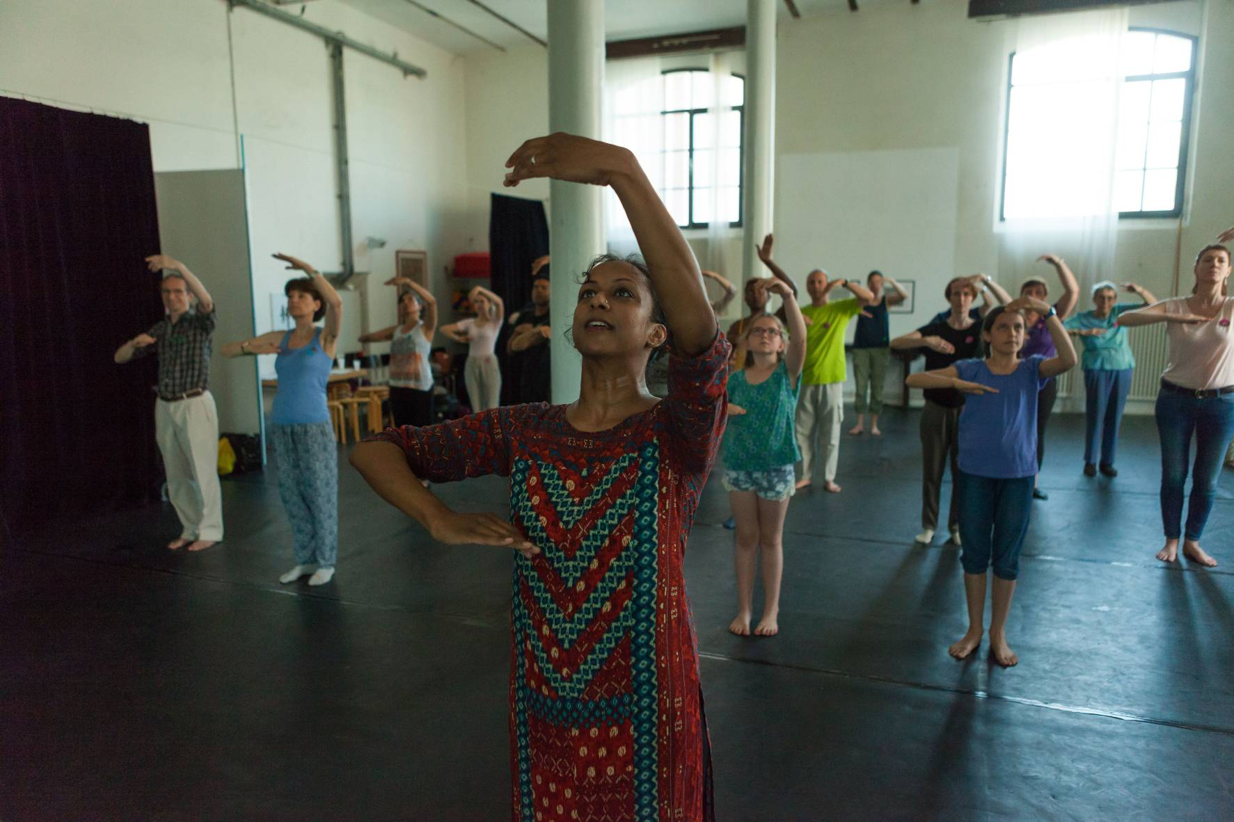 learn Kathak in Basel, Kathak school, indian dance school
